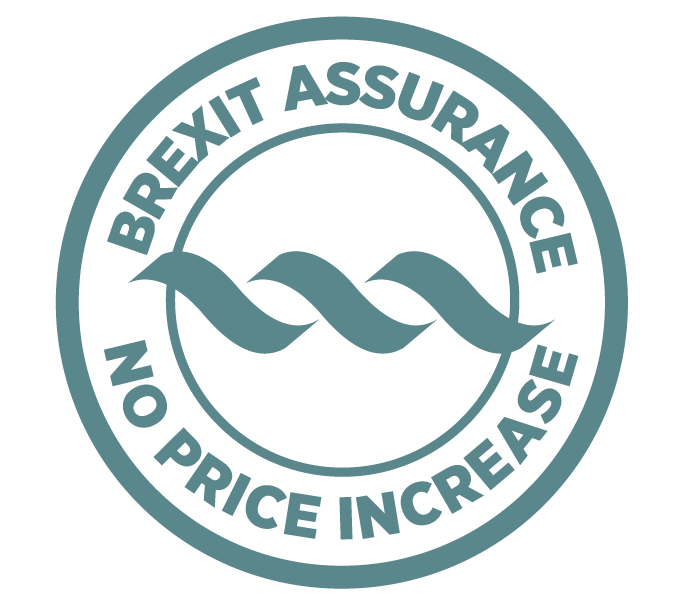 Emerald Waterways Brexit Assurance Stamp