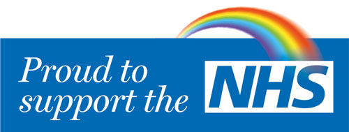 Proud to Support the NHS