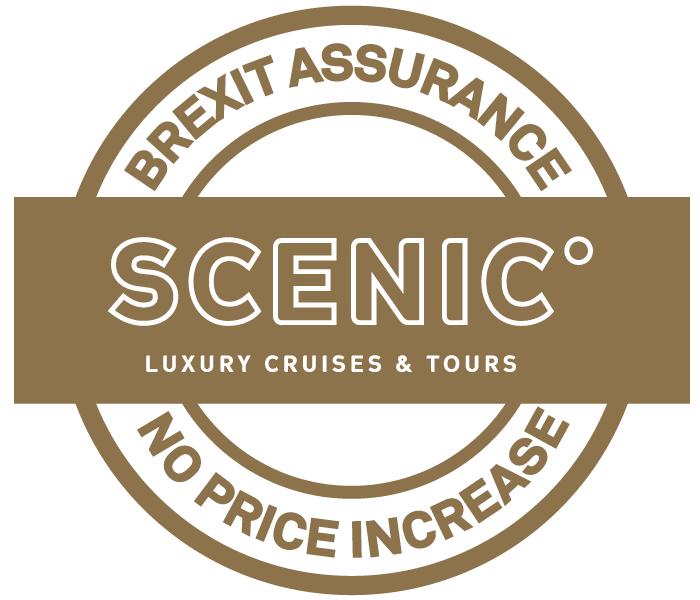 Scenic Luxury Cruises Brexit Assurance Stamp