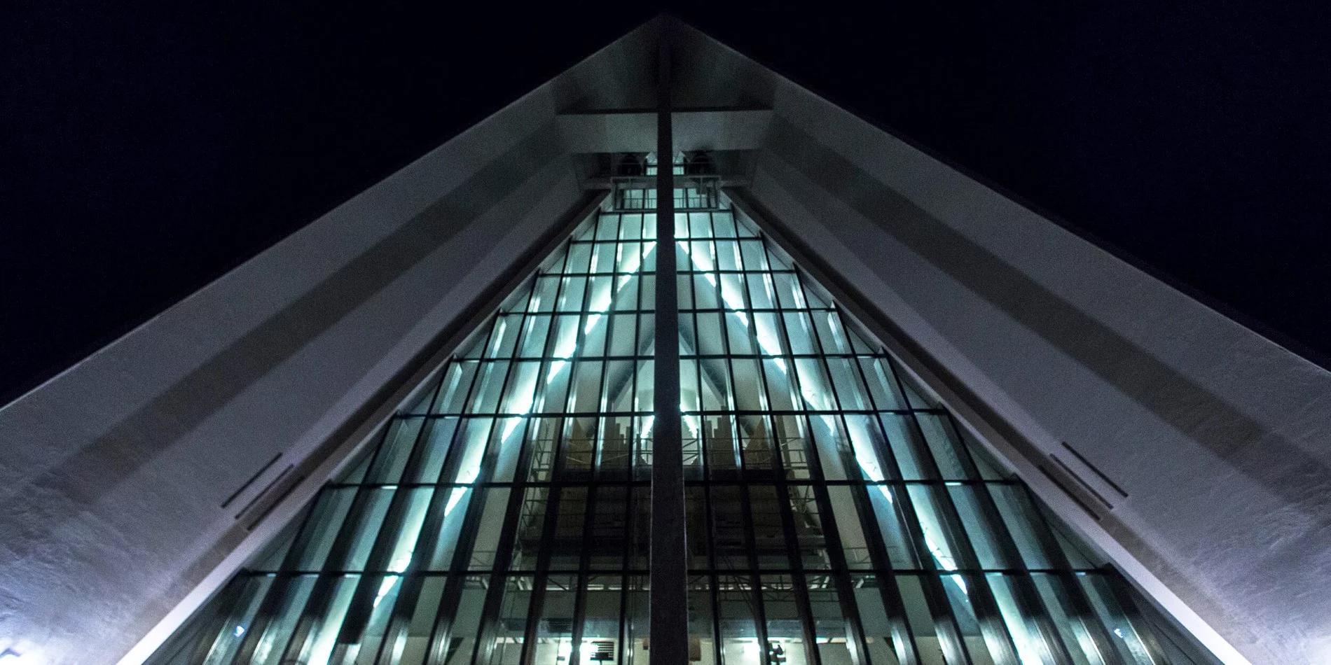 Hurtigruten excursion to the Arctic Cathedral