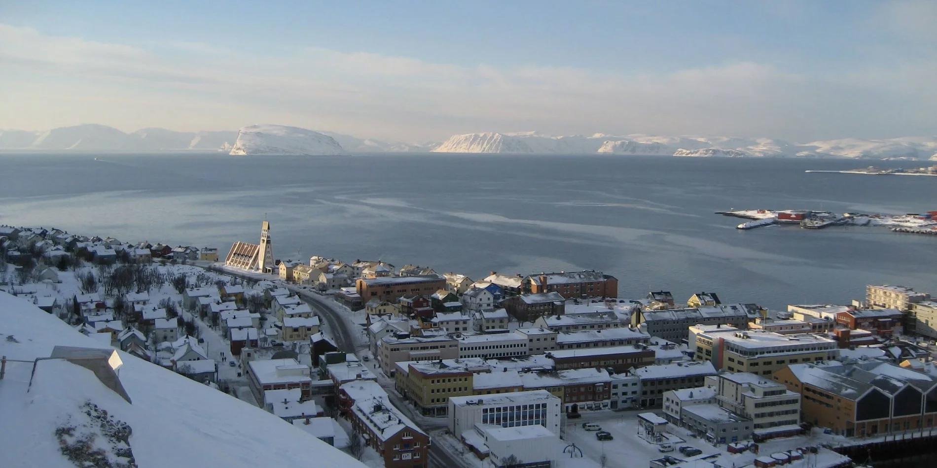 Hurtigruten excursion in Hammerfest