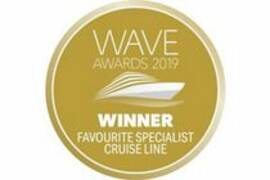 """Best Specialist Cruise Line"" 2019 - World of Cruising Wave Awards"