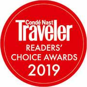 Conde Nest Taveler Reader Awards 2019
