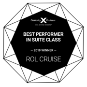 Best Performer in Suite Class for Celebrity Cruises 2019