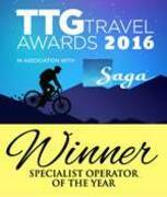 TTG Travel Awards 2016 - Specialist Operator of the Year