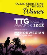 TTG Travel Awards 2019 - Ocean Cruise Liner of the Year