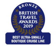 "British Travel Awards 2019 - Crystal Cruises ""Best Ultra-Luxury Small Boutique Cruise Line"" Bronze Award"