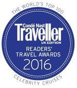 Condé Nast Traveller Awards 2016