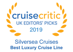 "Cruise Critic 2019 - Silversea ""Best Luxury Cruise Line"""