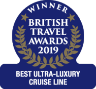 "British Travel Awards 2019 - Silversea ""Best Ultra-Luxury Cruise Line"""