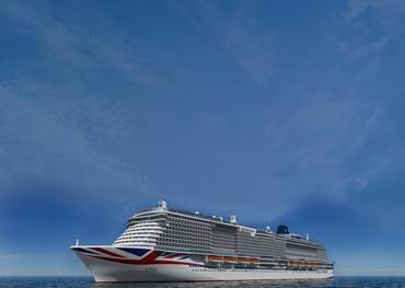 P&O Cruises Iona at Sea