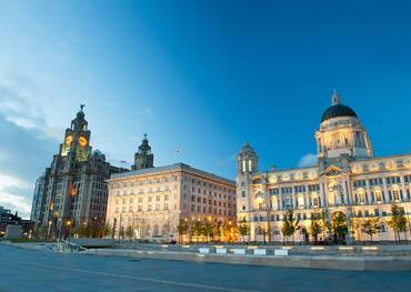Cruises from Liverpool, England