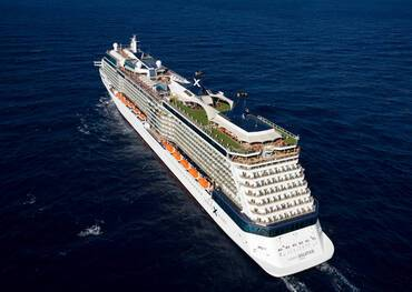 Celebrity Solstice at sea