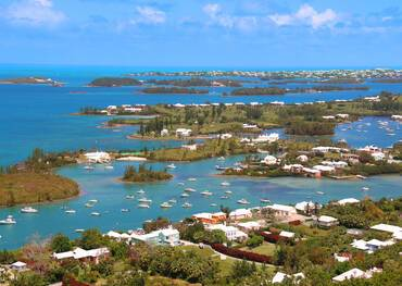 Bermuda, View from above