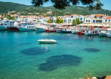Visit Skiathos on a cruise to Greece or the Mediterranean