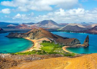 Visit Bartolome Islands on a cruise to the Galapagos Cruise