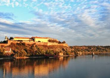 Petrovaradin Fortress in Novi Sad Serbia