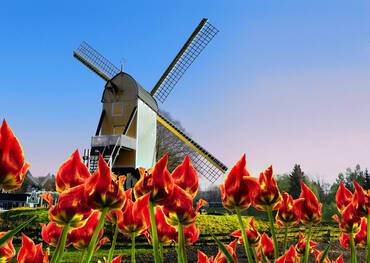 Dutch windmill, Arnhem