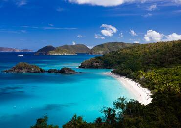 Trunk Bay St John, US Virgin Islands