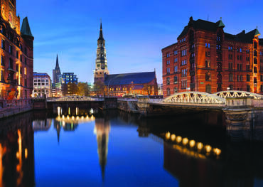 Speicherstadt district, Hamburg