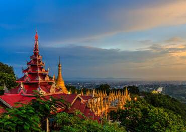 Cruises to Mandalay, Myanmar