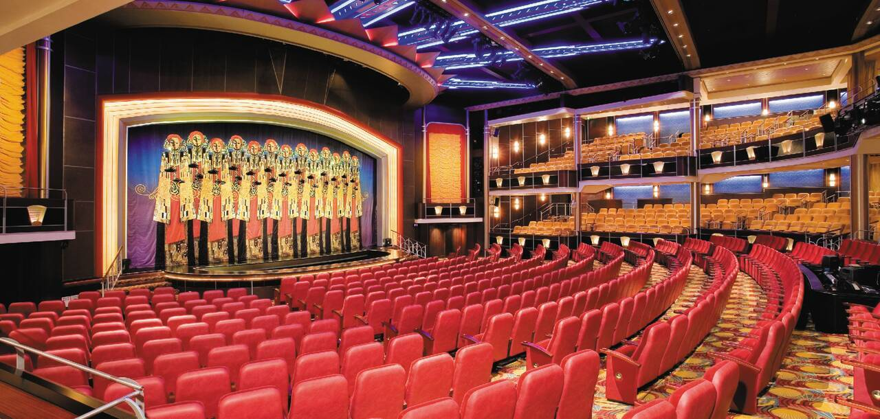Independence of the Seas Theatre