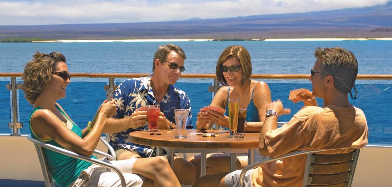 Celebrity Cruises | Celebrity Xpedition Deck