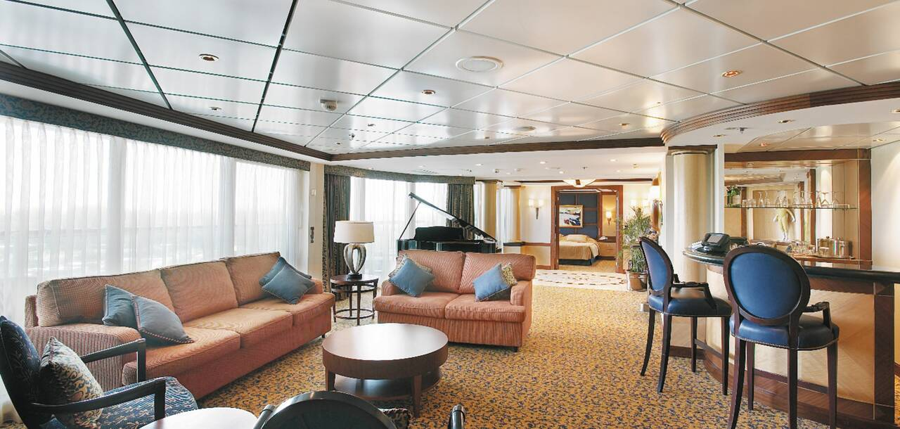 Jewel of the Seas Royal Suite