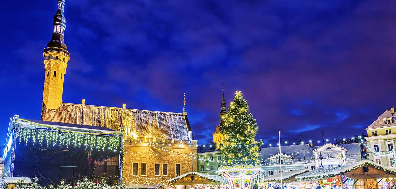 Christmas markets, Tallinn