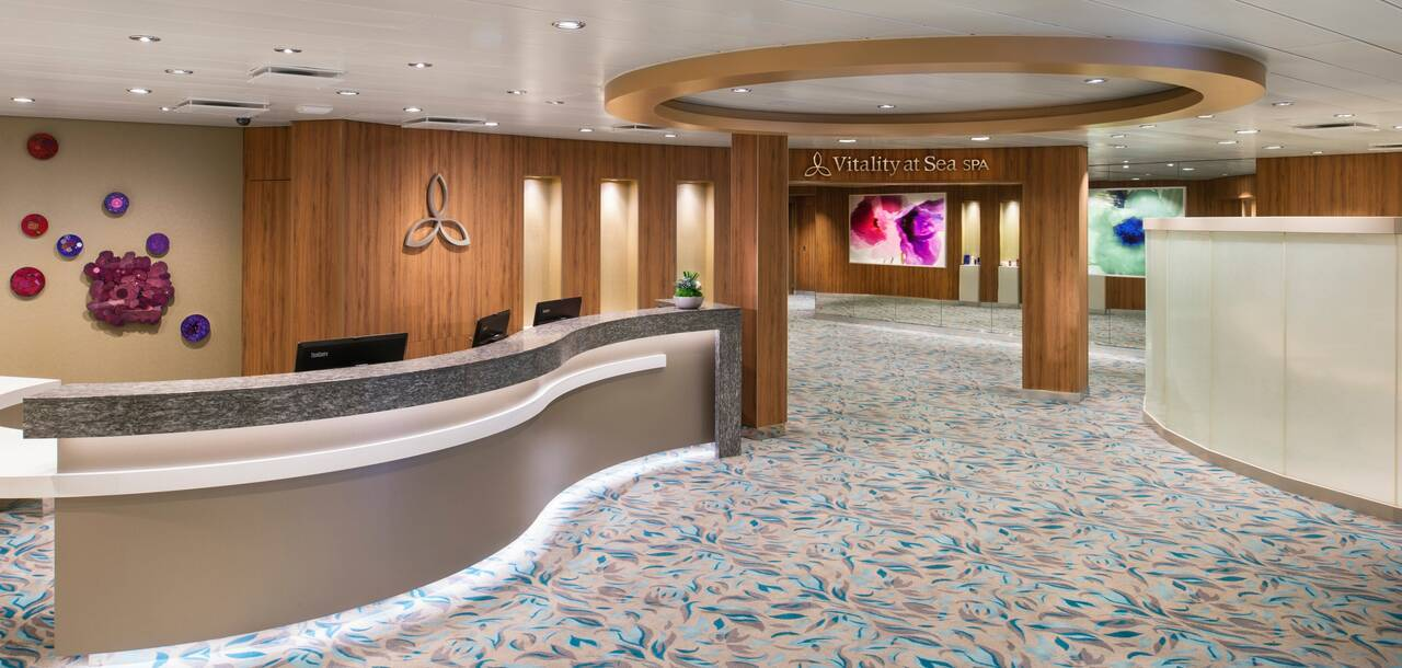 Harmony of the Seas Spa Reception