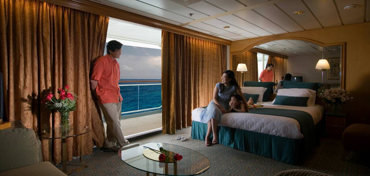 Rhapsody of the Seas Grand Suite