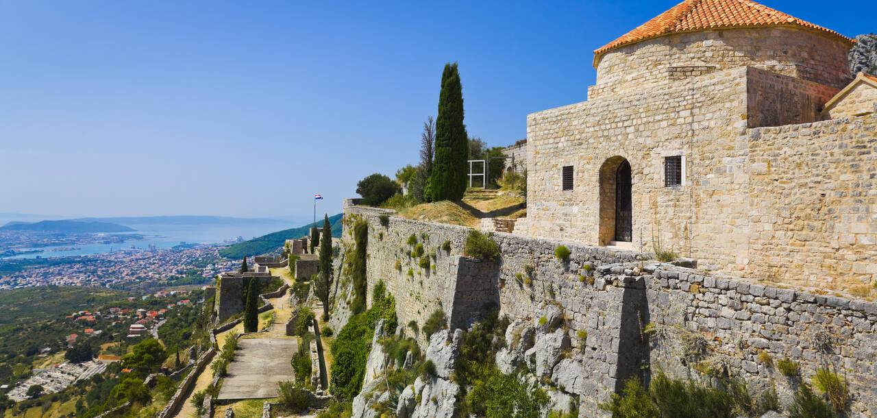 Old Fort, The Fortress Of Klis, Game Of Thrones, Split