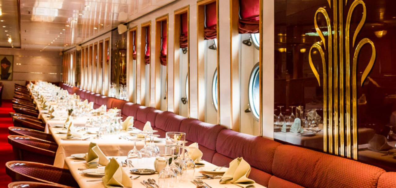 Cruise & Maritime Voyages | Astoria Restaurant