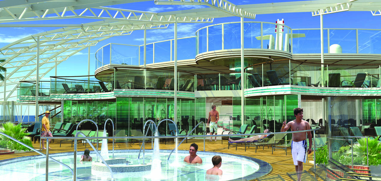 Oasis of the Seas Solarium