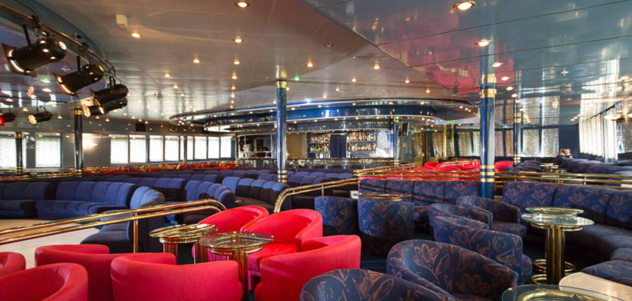 Cruise & Maritime Voyages | Astoria, Calypso show lounge