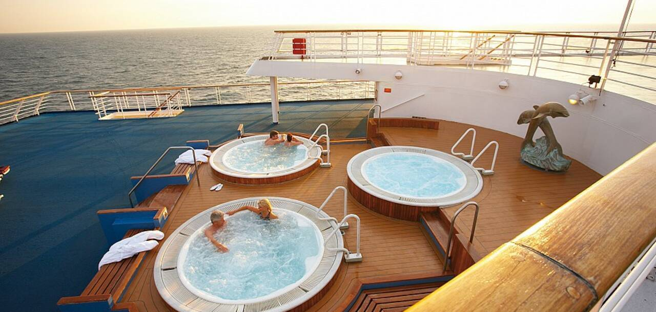 Cruise & Maritime Voyages | MS Marco Polo Whirl pool