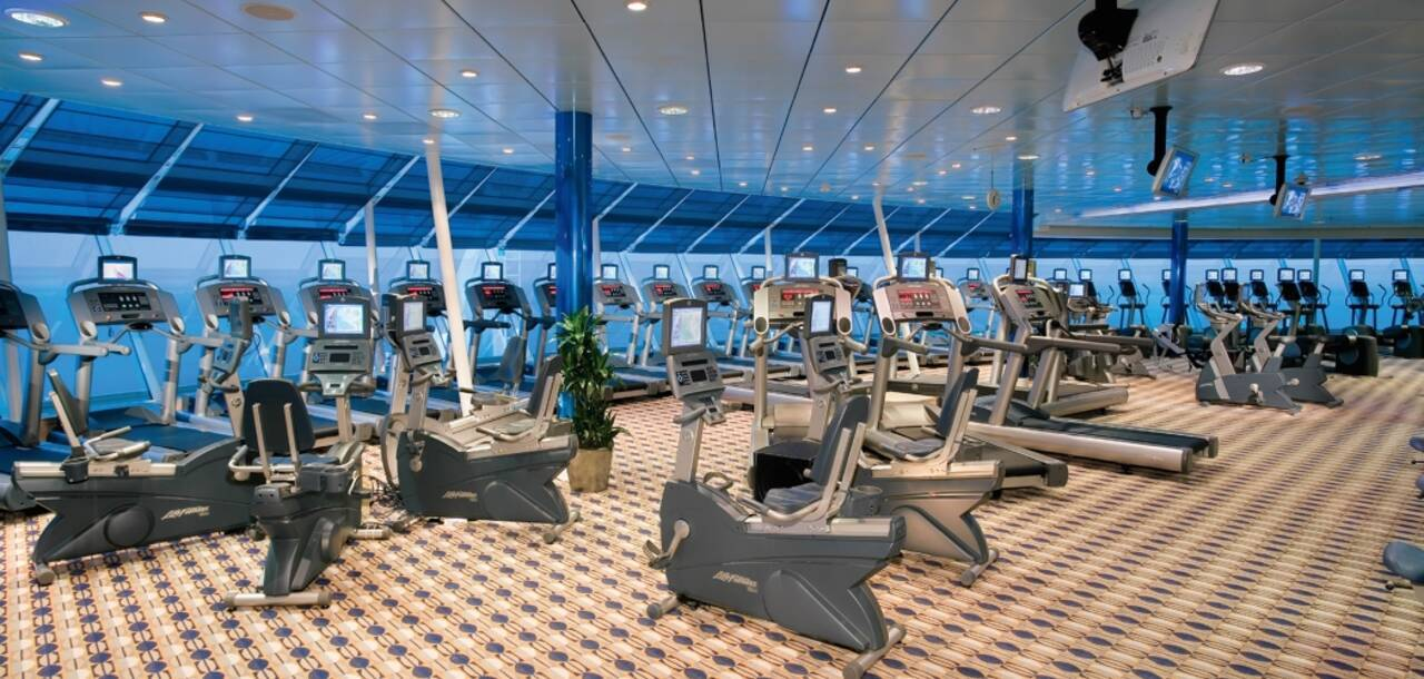 Independence of the Seas Gym
