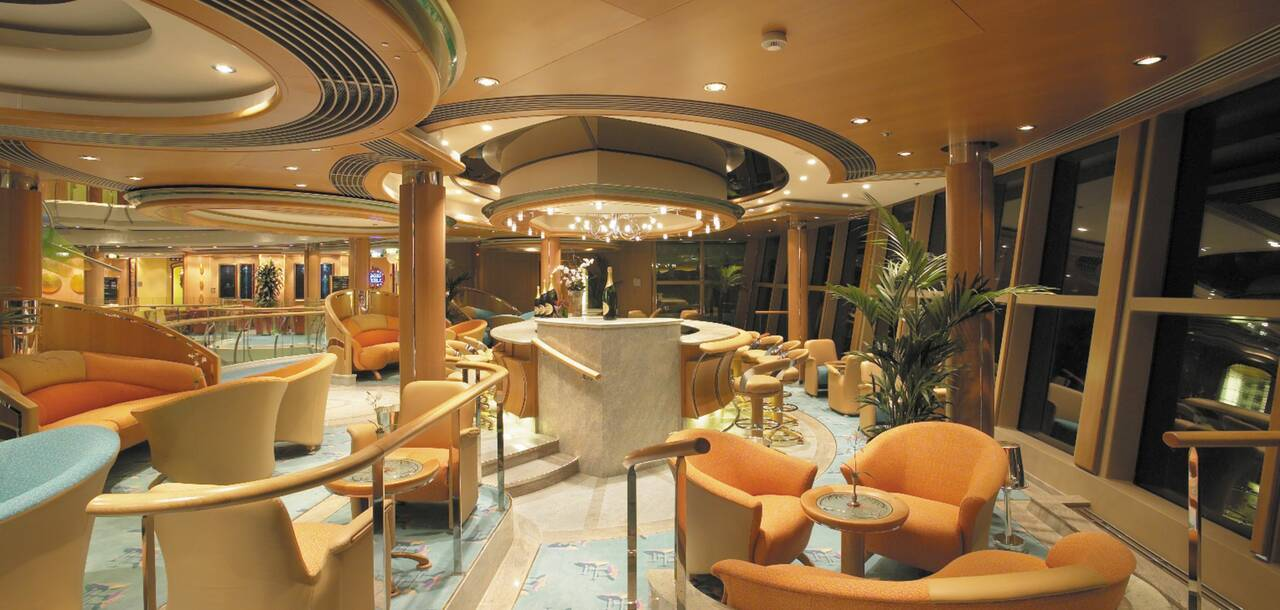 Serenade of the Seas Champagne Lounge