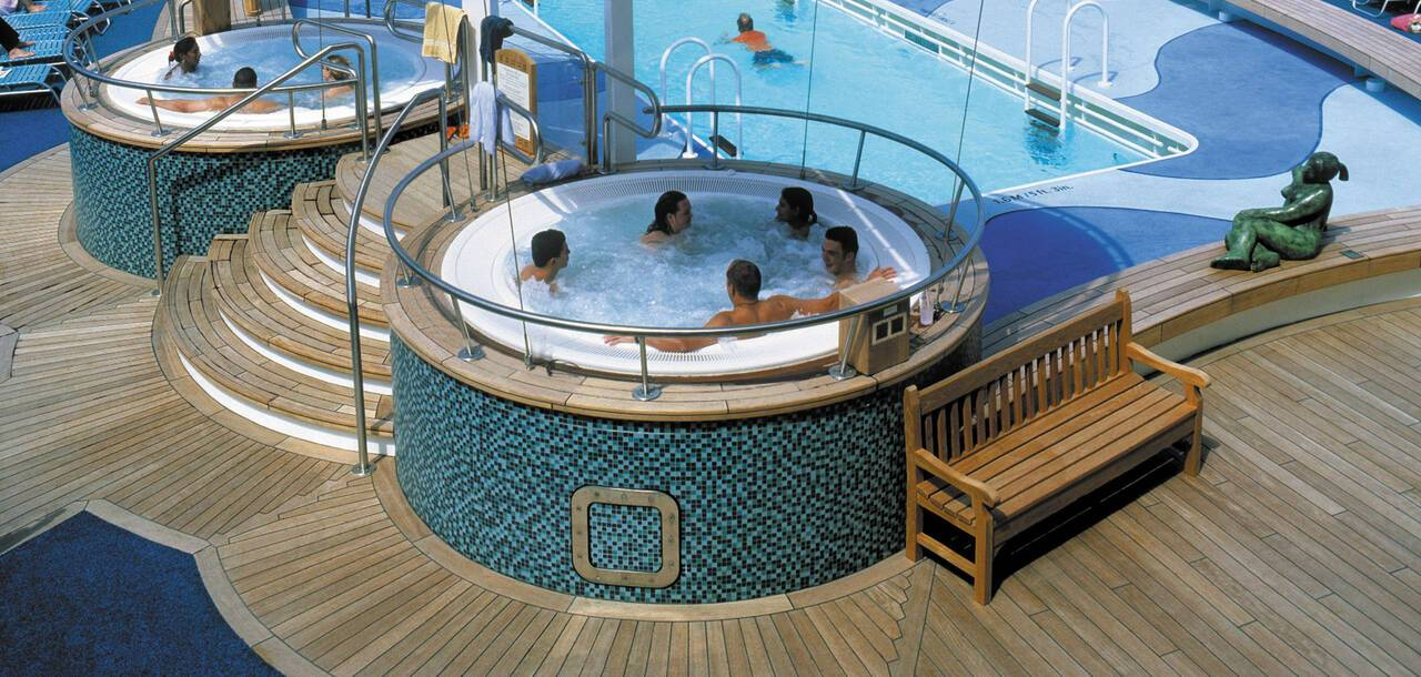 Brilliance of the Seas Whirlpools