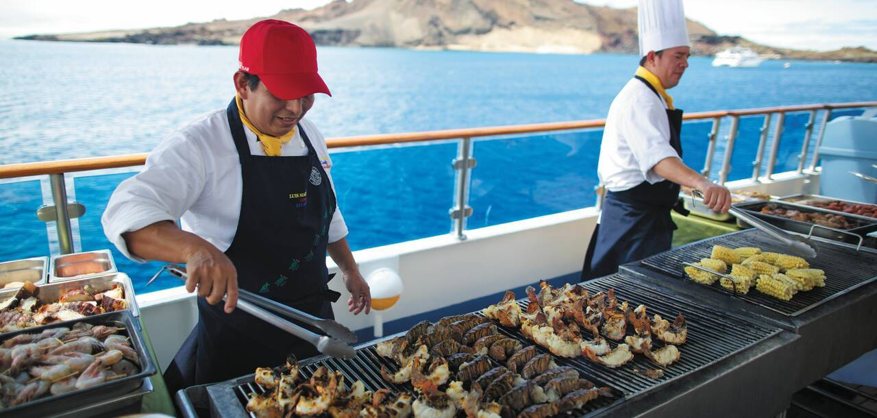 Celebrity Cruises | Celebrity Xpedition BBQ