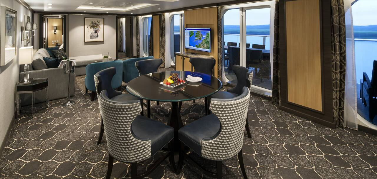 Harmony of the Seas Family Suite Living