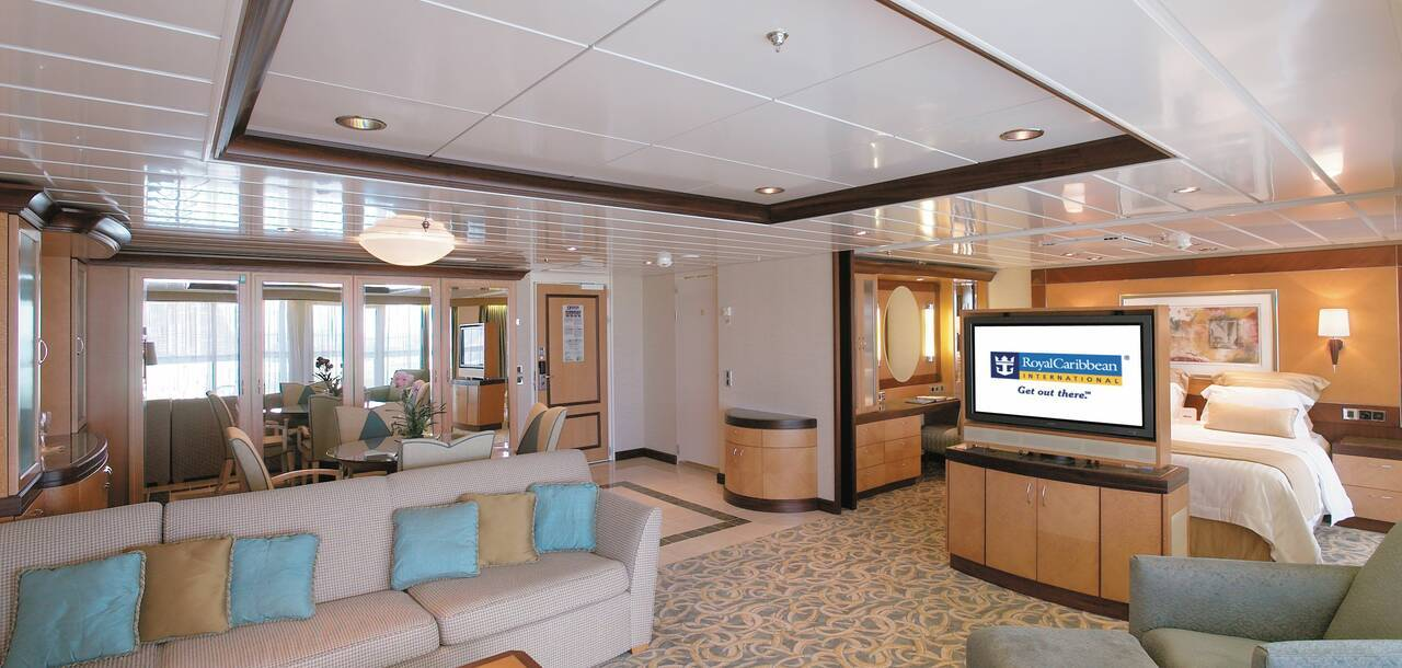 Freedom of the Seas Owners Suite