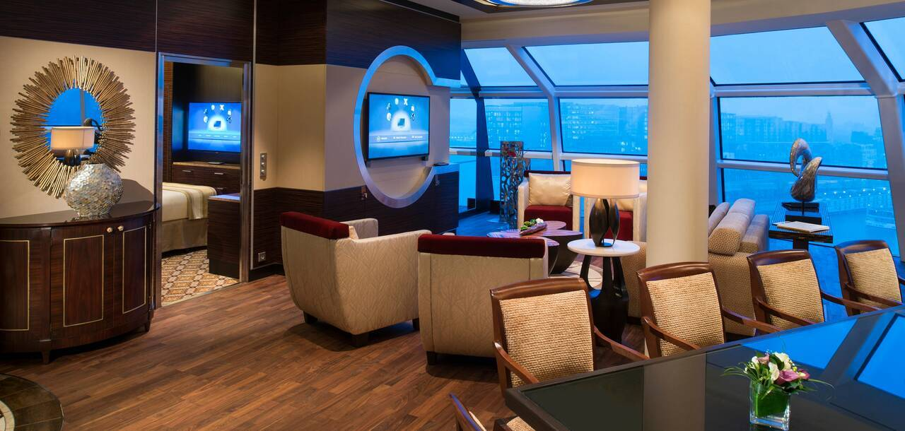 Celebrity Cruises | Celebrity Reflection Suite