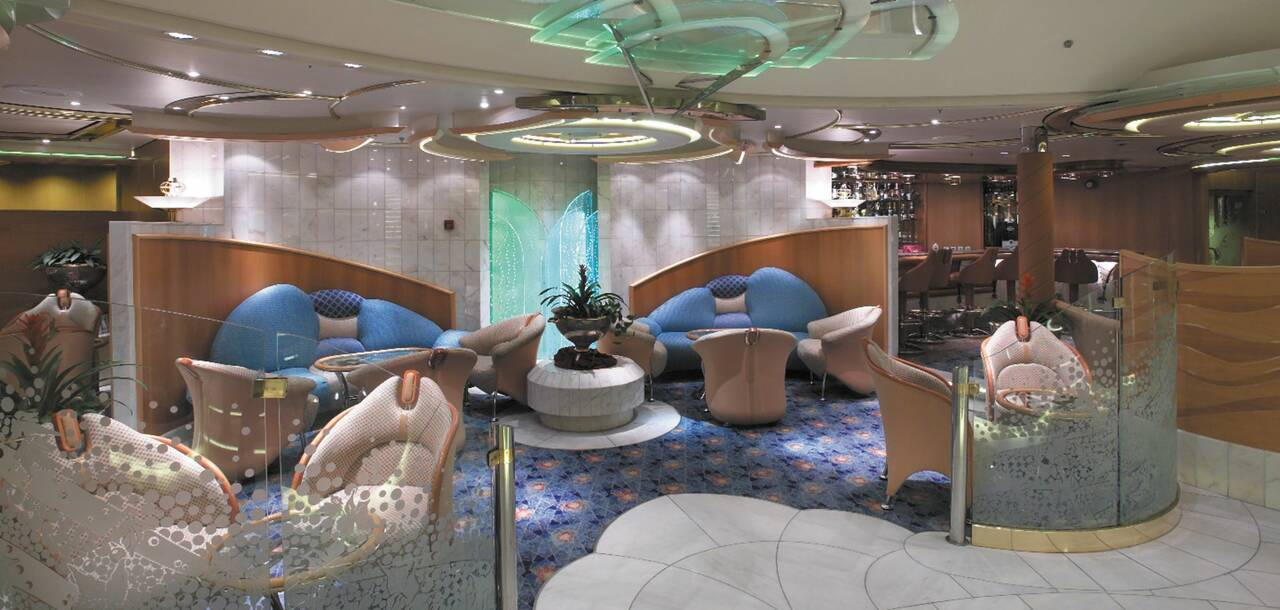 Enchantment of the Seas Champagne Lounge
