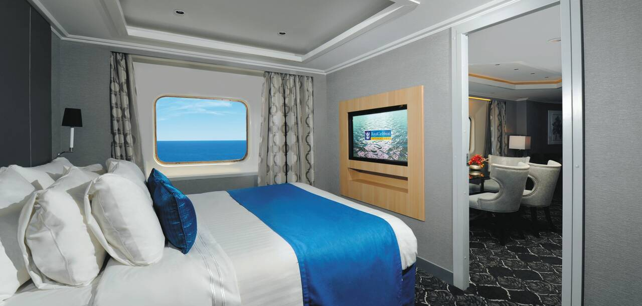Empress of the Seas Royal Suite Bedroom
