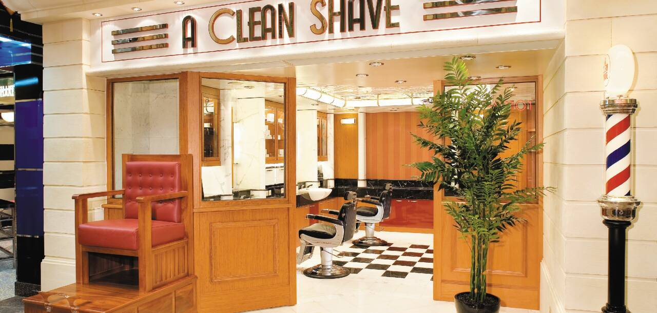 Independence of the Seas Clean Shave