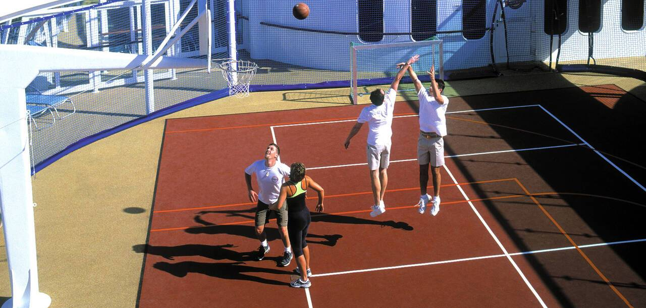 Brilliance of the Seas Hoops Court