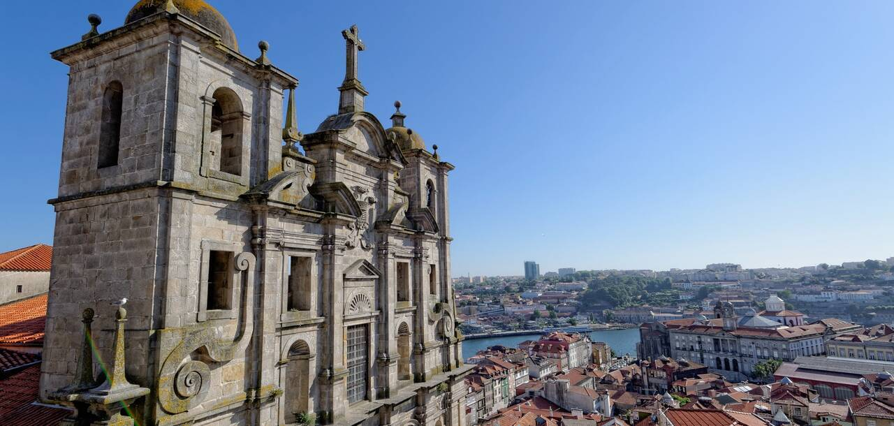 Porto Portugal City Old Town Historically