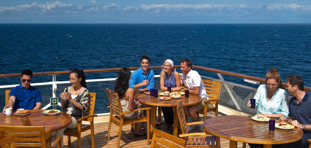 Celebrity Cruises | Celebrity Constellation - Aft Seating