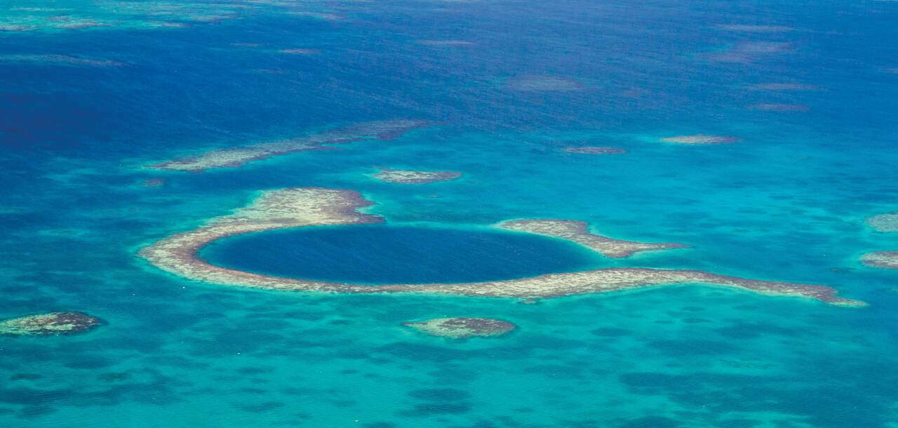 Belize, Blue Hole